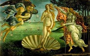 Botticelli: Die Geburt der Venus